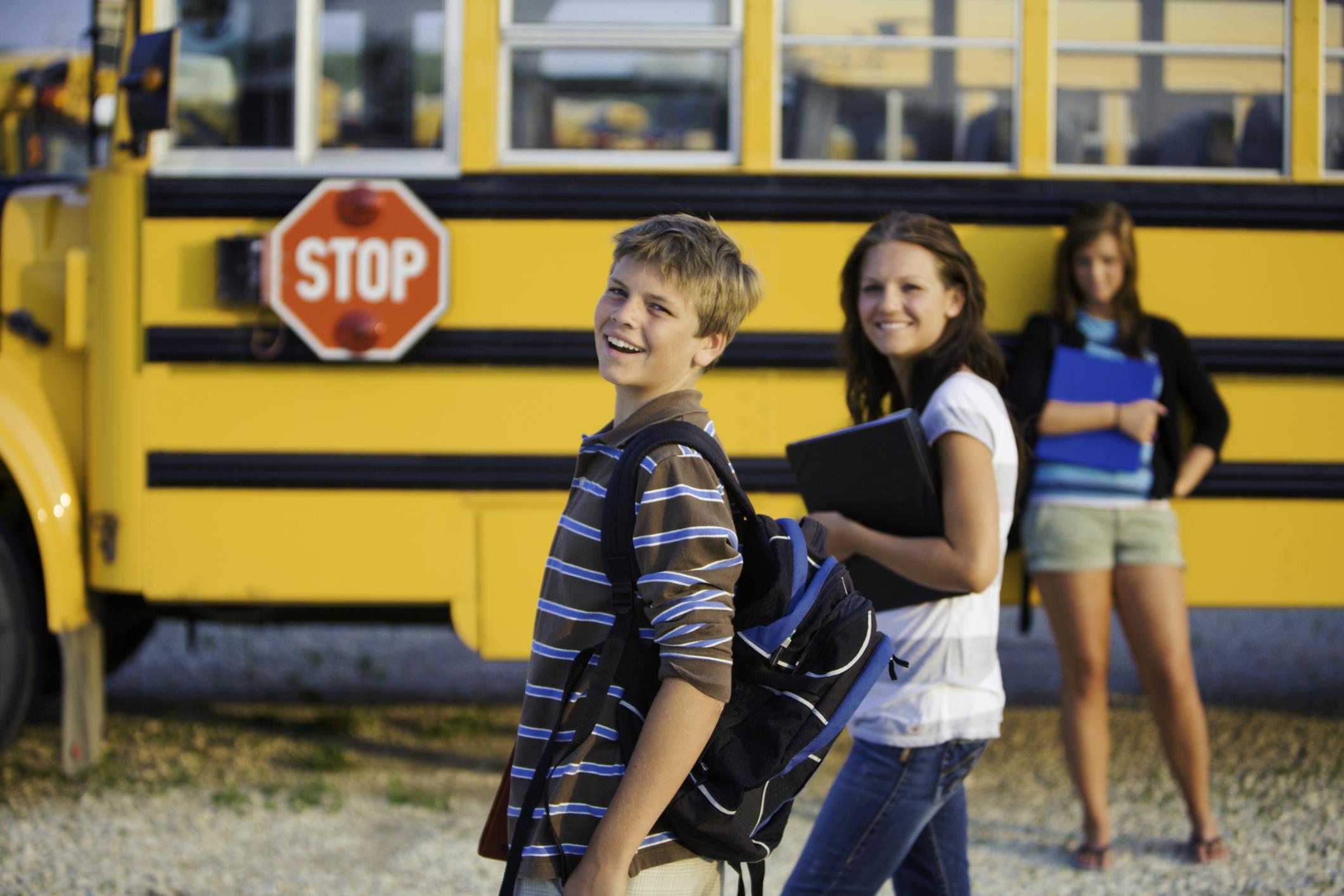 Kids By SchoolBus - iStock